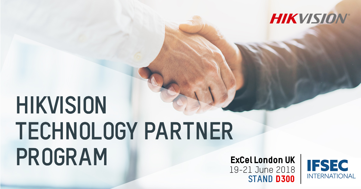 Hikvision announces major expansion of its Technology Partner Program at IFSEC 2018