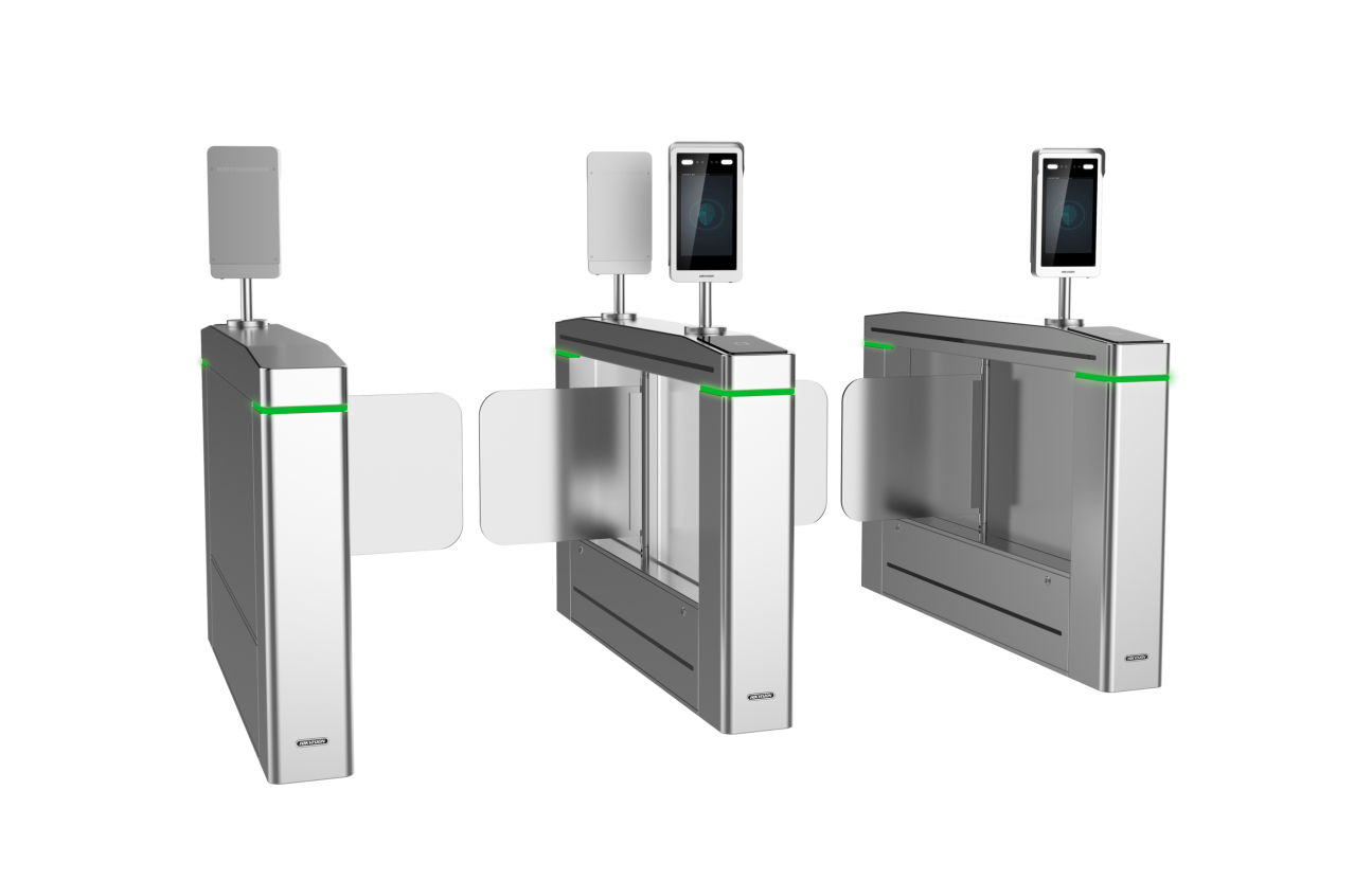 DS-K5603-Z with access turnstile