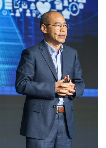 Yangzhong Hu, CEO of Hikvision