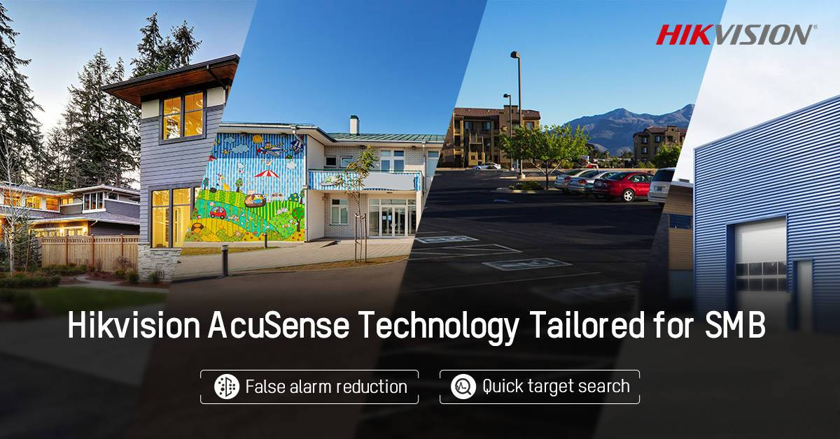 Hikvision AcuSense Technology Tailored for SMB